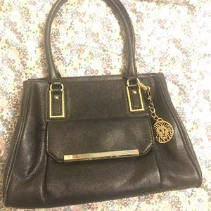 Ann Taylor black purse